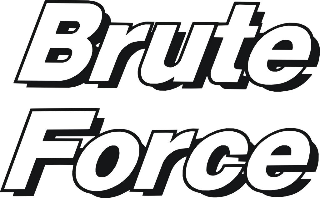 Brute Sticker